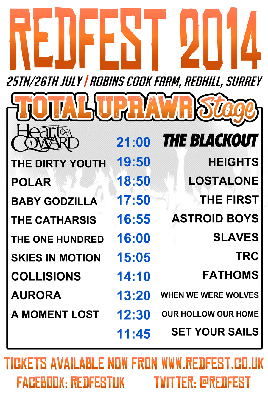 NEW UPRAWR TIMES POSTER JULY INVERTED 900